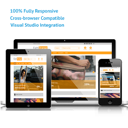 EightOrange ASP.NET, MVC Responsive Template